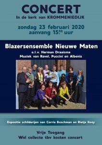 Concert Nieuwe Maten @ Kerk van Krommeniedijk, Krommeniedijk 182, Krommenie